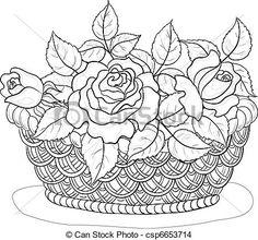 flowers drawing - Google zoeken