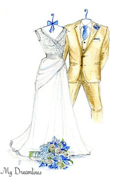 Personal Wedding Dress Sketch | Anniversary Gift | Wedding Gift | Wedding Day Gift From Groom | Bridal Shower Gift | Wedding Guestbook www.mydreamlines.... #weddinggift #anniversarygift #weddingdresssketch #bridalshowergift #groom #groomsmen #bridegift #paperanniversarygift #oneyearanniversarygift #romanticanniversarygift