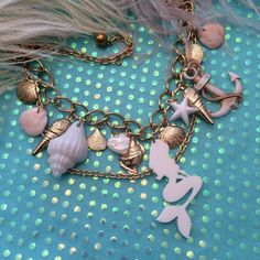 Under the Sea Charm Necklace by imyourpresent on Etsy, $18.00