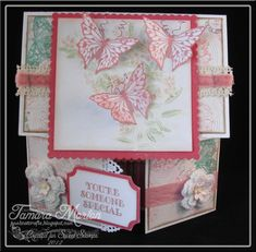 I am a crafting addict! Come and join me on my crafting journey Fun Fold Cards, Folded Cards, Tuxedo Card, Interactive Cards, Shaped Cards, Card Patterns, Butterfly Cards, Card Maker, Card Sketches