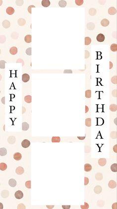 Creative Instagram Photo Ideas, Instagram Photo Editing, Instagram And Snapchat, Instagram Blog, Instagram Story Ideas, Birthday Captions Instagram, Birthday Post Instagram, Happy Birthday Posters, Happy Birthday Wallpaper