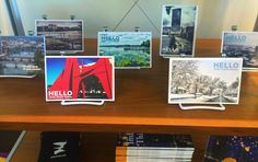 ArtPrize 2014 is officially open!  We're excited to let you know that our Hello From Grand Rapids postcards are now available in the HUB gift shop at 41 Sheldon Blvd!