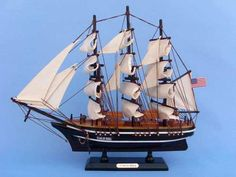"""Wooden Star of India Tall Model Ship 15"""""""""""