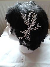 Stunning Bridal Wedding Crystal Rhinestones Diamante Vintage Hair Comb Clip