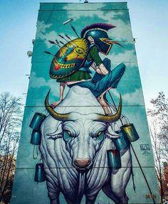 """Fight for Art"" by Bozko in Sofia, Bulgaria, 12/16 (LP)"