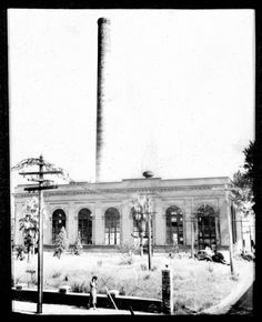 The original streetcar generating plant in Jacksonville. Located where the Times-Union Building is today. An office building on the corner at the foot of the Riverside viaduct was the only technical academy in the US to teach streetcar operation. Across the street, where the Skyway barn is today were the original streetcar barns. It was a large building and still had the track inside with the inspection pits between the rails when it was demolished in the early 1980's.