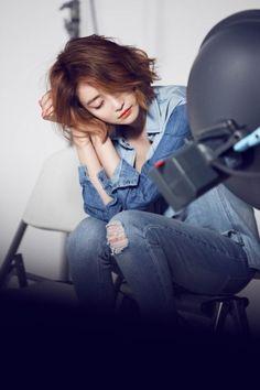 고준희, 안아주고 싶은 입술 'B컷 메이크업 화보' :: 네이버 TV연예