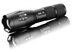LED Zoomable Flashlight 3800 lumen