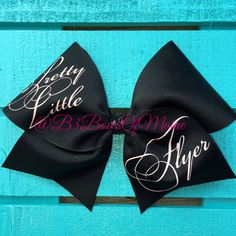 Pretty Little Flyer Cheer Bow by B3BowsMaine on Etsy