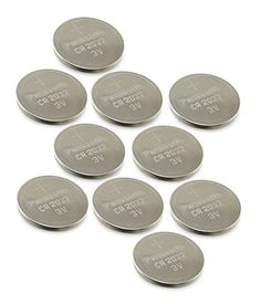 [ 4 pcs ] — Panasonic Cr2032 3v Lithium Coin Cell Battery Dl2032 Ecr2032  CR2032 lithium button cells are commonly used in car security (car alarm/keyfob batteries), organizer (backup battery for PDA such as Psion etc), glucometer, camera, electric thermometer, calculator, computer equipment (memory backup battery), toys, communication equipment, electronic watches/clocks, card radios, data pack for video camera. This battery is 100% OEM Compatible and is guaranteed to meet or exceed..