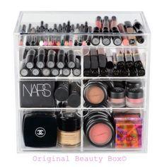 Made in the USA Makeup Storage- The Original Beauty Box www.originalbeautybox.com