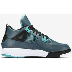 Air Jordan 4 Retro ($65) ❤ liked on Polyvore featuring shoes, sneakers, retro style shoes, retro inspired shoes and retro shoes