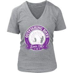 Outfishing Boys Since 1981 Women's Fishing T-Shirt