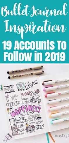 Awesome bullet journal ideas for beginners. Bullet Journal 2019, Bullet Journal Hacks, Bullet Journal How To Start A, Bullet Journal Spread, Bullet Journal Layout, Bullet Journal Inspiration, Bullet Journals, Bullet Journal For Beginners, Planners