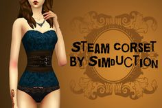 Sims 4 CC's - The Best: Steam Corset for Females by Simduction