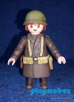 PLAYMOBIL 501 Regimiento Infanteria Bastogne 1944