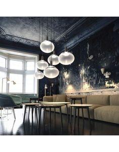 Organische lamp LED 12W dimbaar glas