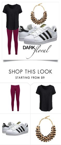 """""""Untitled #80"""" by aviasahalo ❤ liked on Polyvore featuring Great Plains, New Look, adidas Originals and Etro"""