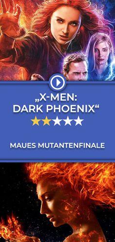 """Die """"X-Men""""-Generation um Michael Fassbender, James McAvoy und Jennifer Lawrence hätte ein besseres letztes Abenteuer verdient gehabt. Die gesamte Kritik gibt's auf filmstarts.de Dark Phoenix, X Men, Comic, James Mcavoy, Michael Fassbender, Jennifer Lawrence, Movies, Movie Posters, Movie"""