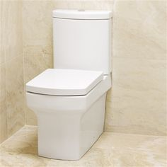 Nathalia Close Coupled Toilet - £319 http://www.bathroomheaven.com/close-coupled-toilets/nathalia-close-coupled-wc-with-soft-close-seat-13905.aspx