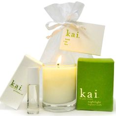 KAI Body and Home Fragrance    Did you know KAI is made without parabens sulfates phthalates phosphates and it is gluten-free microbead-free & cruelty-free? KAI is stocked in recyclable packaging and is made in the U.S.A!!!! New shipment arrived today! We are re-stocked with our clients favorite fragrance! Come in and experience KAI for yourself. It was a Mother's Day 2016 Top-Seller @ Beauty and Main.  PROMO: Buy 2 full-sized KAI products and receive a travel set of KAI Shampoo…