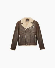 Sheep shearing jacket, biker style - Coats and Short Jackets - The Kooples