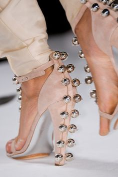 It's almost time for Spring shoes!! Diane von Furstenberg New York Spring 2013 #shoes
