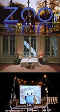 A Zed and Two Noughts (1985)   dir. Peter Greenaway   DoP. Sacha Vierny