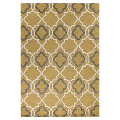 Nerseh Rug in Gold