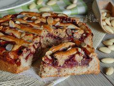 Linzer Torte o Torta di Linz ricetta tirolese per crostata alta e speziata con mandorle nocciole e marmellata di mirtilli rossi o ribes, golosa e profumata