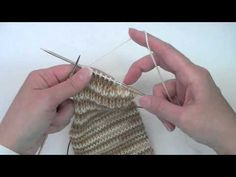 Heel Flap & Gusset (Part 1) - Tutorial - One of the best heel flap and gusset explanations out there!!!