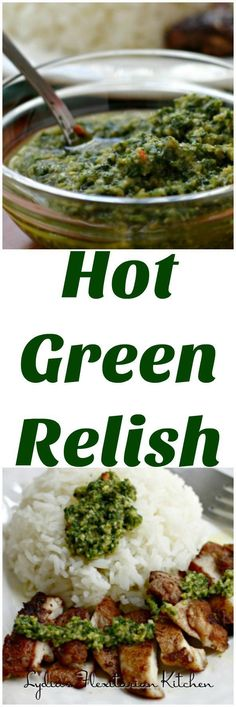 Diana Henry's Hot Green Relish with Turkish Spiced Chicken and Rice ~ I Heart…