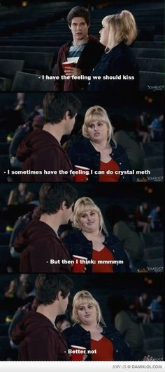 I have yet to receive the pleasure of viewing this movie :( BUT am familiar with this particular scene & grew even more in love with the actress since Bridesmaids & Chelsea Lately! She is outrageously funny :D