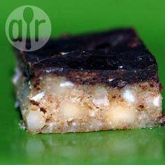 Barritas de chocolate, almendras y lino @ allrecipes.com.ar