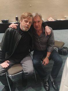 Luke Skywalker & Han Solo Mark HamillVerified account @HamillHimself  Apr 19  More   #HarrisonNotPointing
