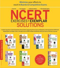 NCERT Exercises & Exemplar complete solution in hand