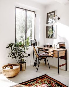 Boho Chic | Productivity-Boosting Study Room Ideas | Living Room Ideas