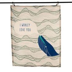 I Whaley Love You Dish Towel
