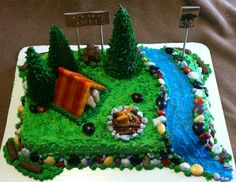 Campsite cake