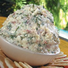 Twirl and Taste: Bona Dea Dip - A Heavenly Concoction of Bacon, Blue Cheese, Cream Cheese, Green Onions and Such