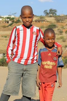 Newcastle and Sunderland, together. Image from The Valley of a Thousand Hills Football Projects in 2010.
