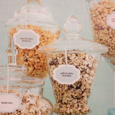 The dessert buffet will also feature flavored popcorns as a nod to the amusement park