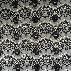 Flower elastic lace fabric for underwear - copy