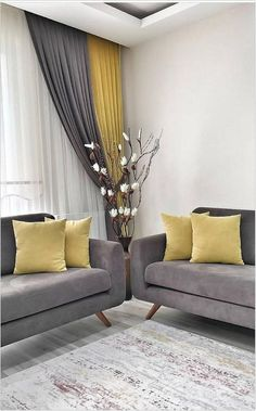 The living room color schemes to give the impression of more colorful living. Find pretty living room color scheme ideas that speak your personality. Living Room Color Schemes, Living Room Colors, Living Room Grey, Living Room Modern, Home Living Room, Living Room Designs, Family Room Colors, Small Living, Living Room Decor Curtains