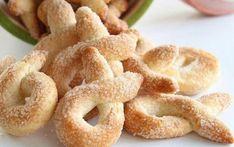 "Italian sugar cookies ""Torchetti"" - All Recipes Cookie Desserts, Cookie Recipes, Snack Recipes, Dessert Recipes, Snacks, Italian Cookies, Recipes From Heaven, How Sweet Eats, Sugar Cookies"