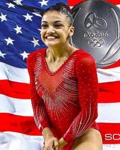 Silver - Laurie Hernandez