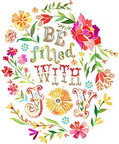 Hope and Hollyhocks: Katie Daisy : she's a wildflower