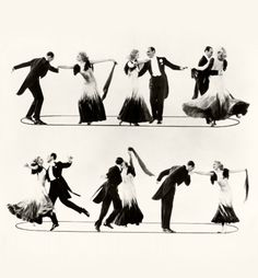 'the continental' from 'the gay divorcee' (1934), fred astaire and ginger rogers