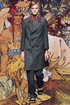 #Gucci #Milan #Menswear #AW15 #GIF #Fashion