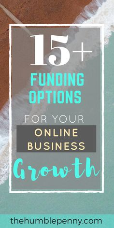 These key funding ideas will help you if you're starting a business or currently run an online (or offline) business that needs cash to grow to the next phase of the business cycle. Start Up Business, Starting A Business, Business Tips, Online Business, Make Money Blogging, Money Saving Tips, Make Money Online, How To Make Money, Earn Money